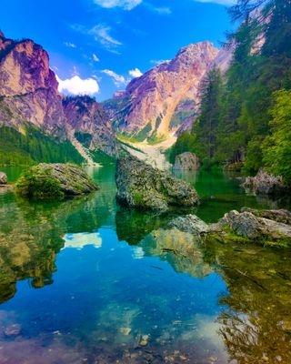 alpi altoadige beautifuldestinations braies braieslake everydayxiaomi lagodibraies lake mountain natural naturalspectacle trentino trentinoaltoadige watercold xiaomiitalia xiaomiphoto xiomiphotography