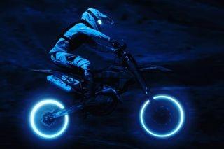daytonight jackspictures ktmoffroad motocross motorcyclephotography motosport neon photomanipulation photoshop