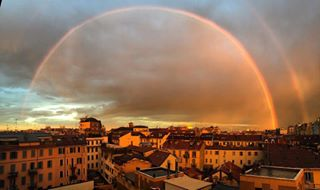 cityscape double doublerainbow earth earth_dream earthfocus earthporn eye4photography igdaily instagood instalike iphone landscape milan nature natureaddict naturelovers natureonly nature_perfection naturephotography natureporn ourplanet ourplanetdaily ourplanetisbeautiful photooftheday picoftheday rainbow rainbows rainyday