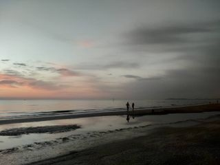 alba dawn beach colors clouds orange pink friends sea seadawn rimini waves earlymorning goldenhour seashore groupfotocare photocell oppo findx2 italy perhaps holiday