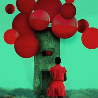 balloons conceptualphotography fineartphotography photography redcolor stran surrealism surrealphotography