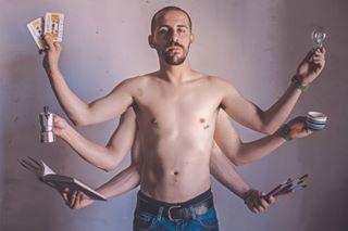 art artist compositephotography igersitalia igerslazio multitasking painter photography photooftheday portrait terracina