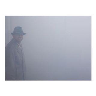 fog foggy fredherzog man photographs somewhere weather