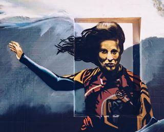art graffiti grancanaria grandestino instagood islascanarias lascanteras laspalmas lovegrancanaria picoftheday power spainvacation spain_vacations street streetart wall woman