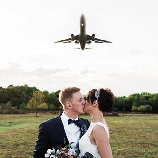 afterwedding junebugweddings planeshot planespotting wedding2017 wedding2018 weddingpilots