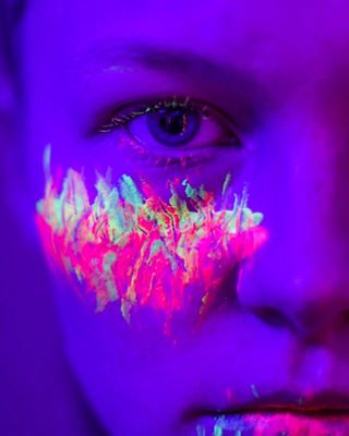 blue drip featurehighlight featuremwofh humanpotrait lips macrophotography neon ofhumans paint pfunder10k photography pink poetry purple smallfeature under3kyo