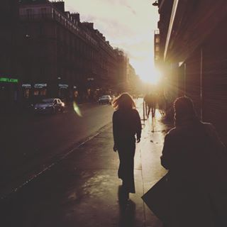 and awesome between byebye light magic moments movement paris picoftheday reflection shadow sunset