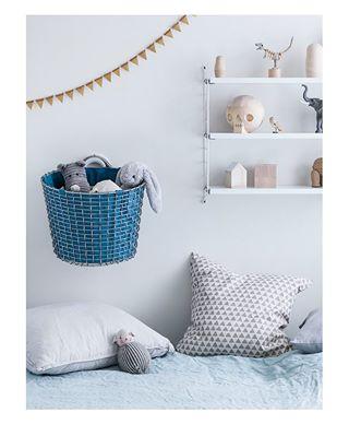 basket design interior kidsroom scandinaviandesign storage